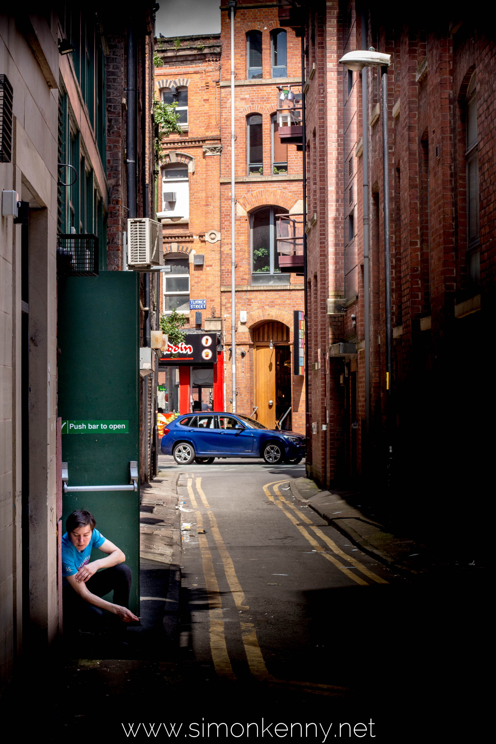 Back Street in Manchester