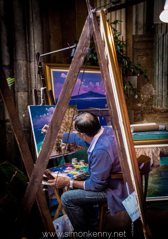 Sorrento Street Artist